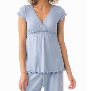 Majamas The Genna PJ Maternity Nursing Pajama Top